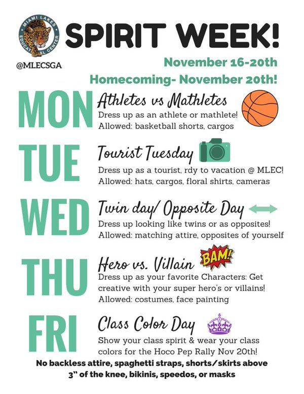 Spirit week themes google search also best homecoming images ideas football moms rh pinterest