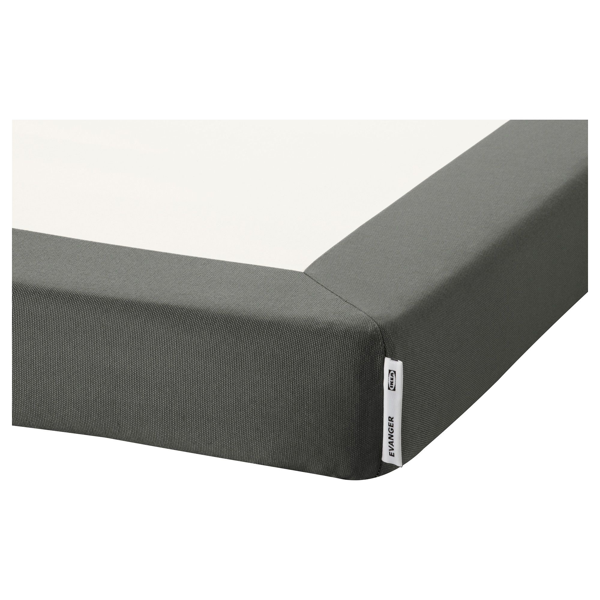 evanger support matelas 90x200 cm gris fonc ikea comprado vieux pinterest. Black Bedroom Furniture Sets. Home Design Ideas