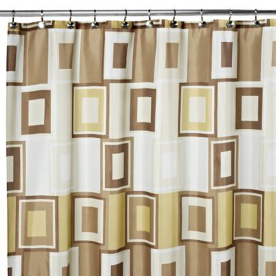 Contempo 108 Inch X 72 Inch Fabric Shower Curtain Fabric Shower