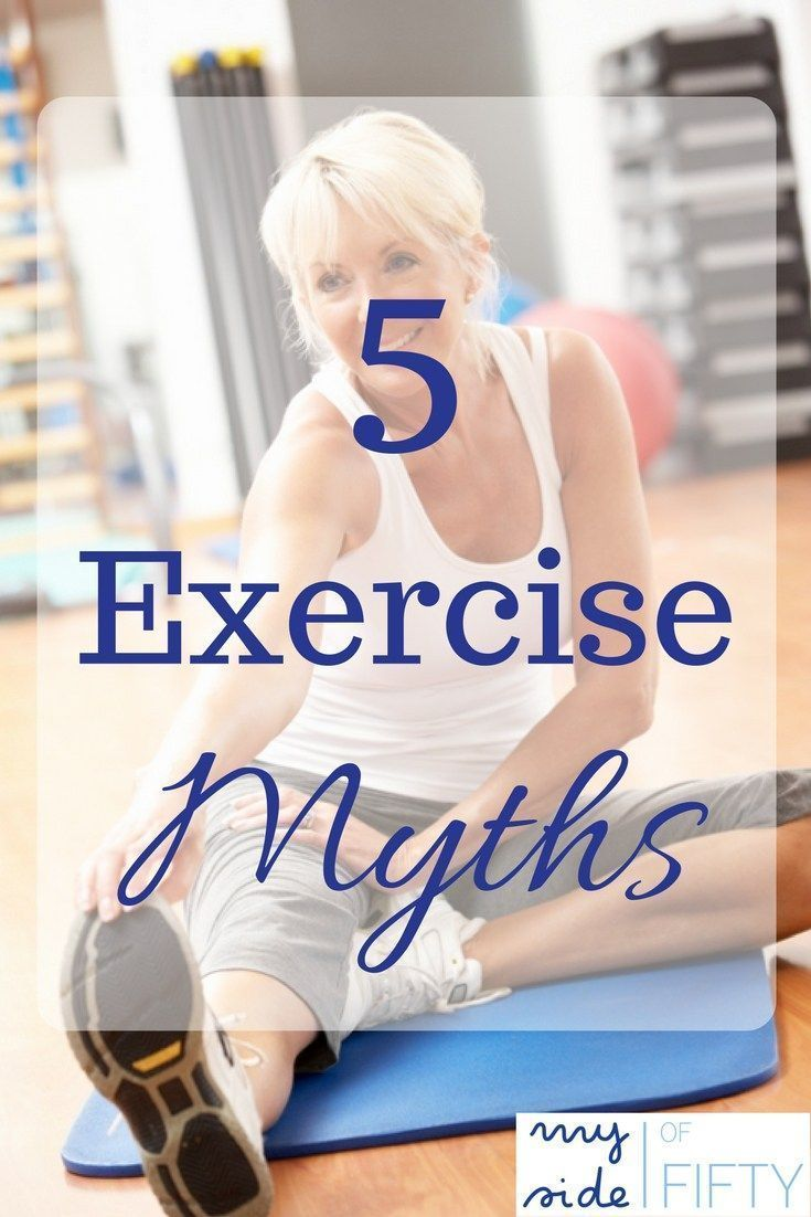 The Top 5 Crazy Exercise Myths That Women Need To Know