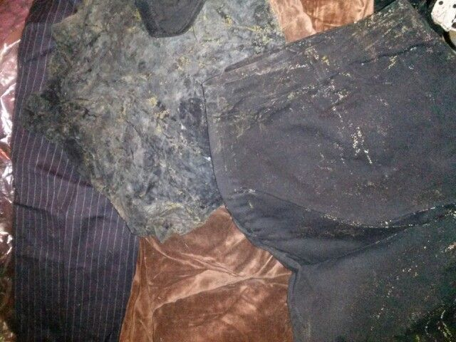 Bon Black Mold On Expensive Church Clothes. Toilet Overflowed Im Bathroom,  Bedroom, Closet And Hallway. RUINED!