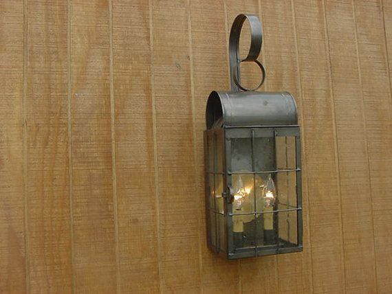 Old Vintage Early American Antique Rustic Colonial