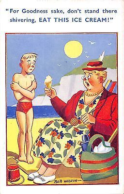 #Postcard comic #seaside little boy ice #cream, View more on the LINK: http://www.zeppy.io/product/gb/2/231844435509/