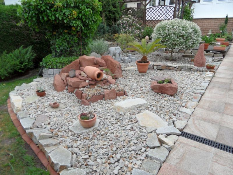steingarten vor dem haus - google-suche | garten | pinterest | vor, Gartenarbeit ideen