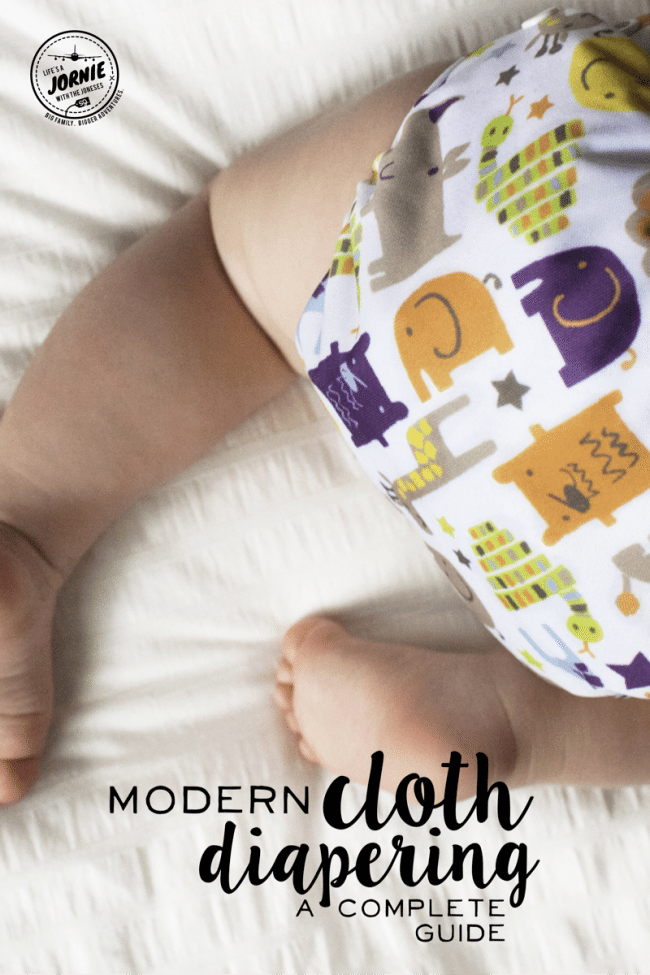 Modern Cloth Diapering - A Complete Guide - Everything you ever wanted to know about cloth diapers, all in one place! **PIN TO SAVE FOR LATER**