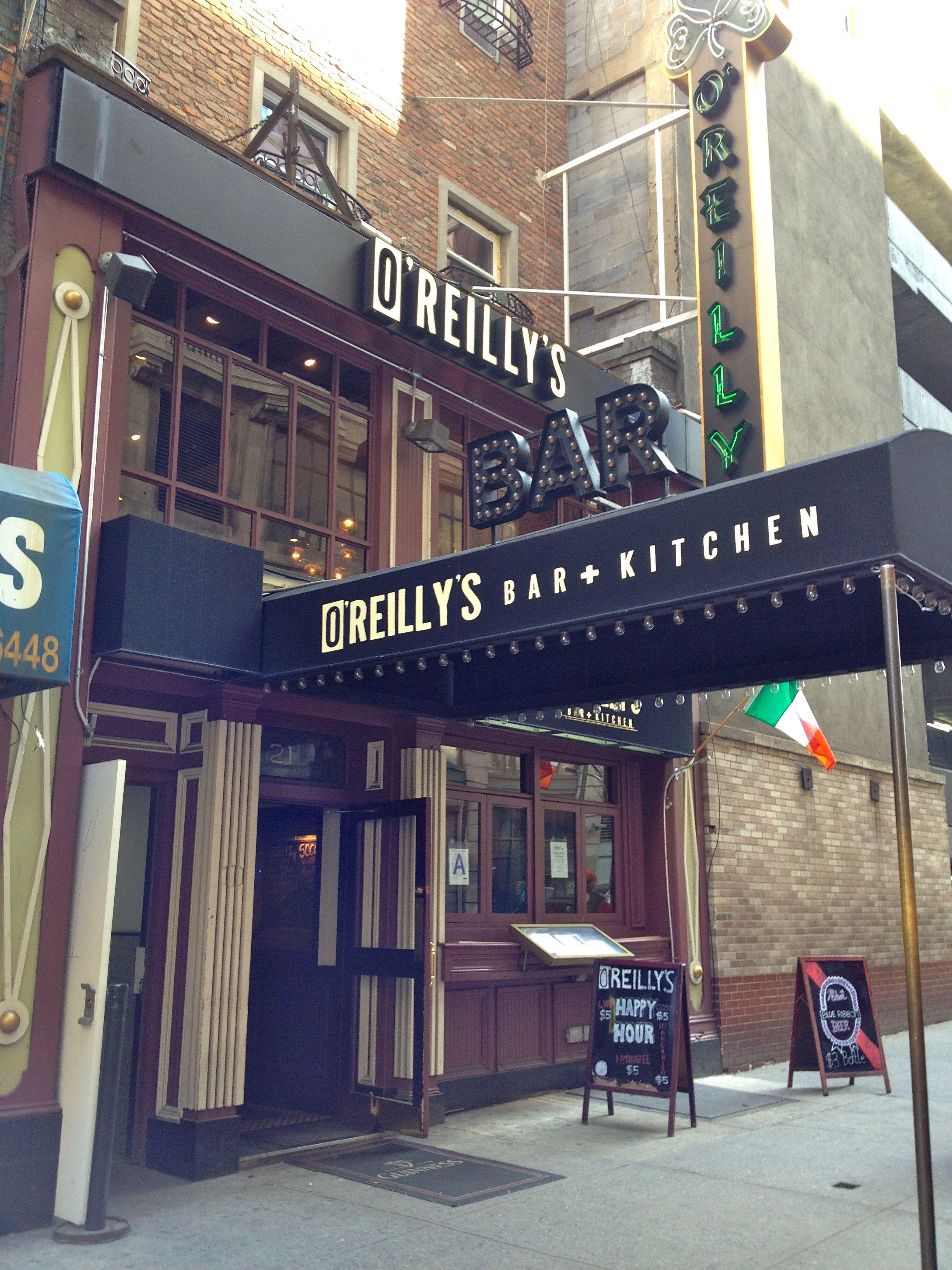 O Reilly S Bar Kitchen New York Ny Designed By Dallago Associates Inc Www Dallagodesign Com Irish Pub Bar And Kitc Kitchen New York Kitchen Bar Pub Bar