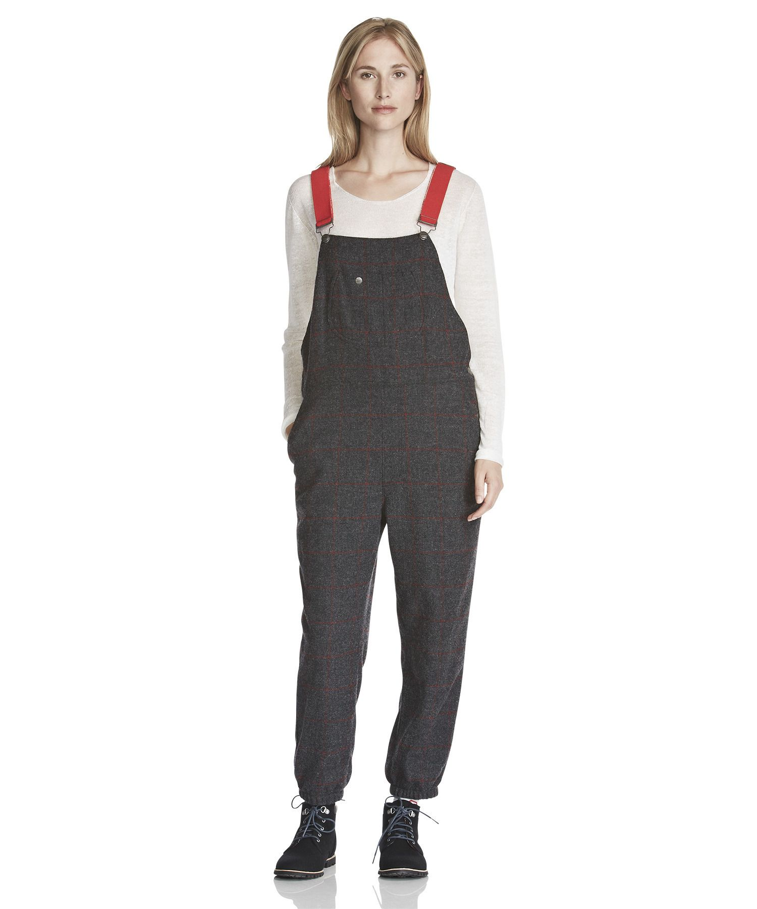 2f8e2a8f81a9 Women s Ms. Malone Wool Bib Overalls by WOOLRICH® The Original Outdoor  Clothing Company