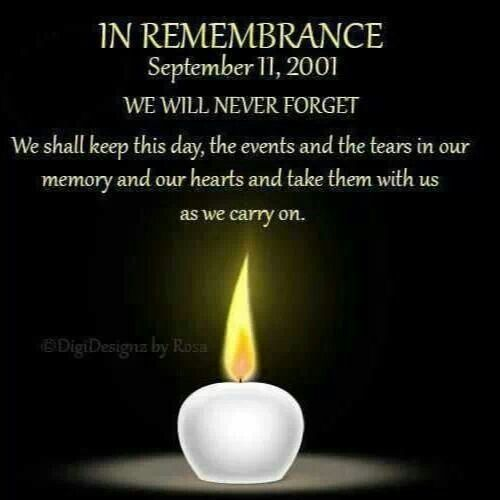 Remember 9/11/2001