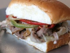 Easy Cheesy Philly Cheese Steak - Deliciousness -