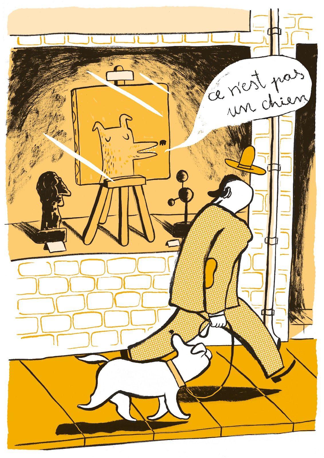 """Ce n'est pas un chien""    ""Si yo pinto mi perro exactamente como es, naturalmente tendré dos perros, pero no una obra de arte."" J. W. Goethe.    ""If I paint my dog exactly as it is, naturally I'll have two dogs, but not a work of art."" J. W. Goethe.    www.pauvalls.net"