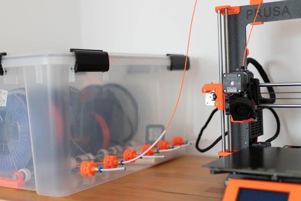 DIY Filament Box selber bauen die ANYBOX (mit Bildern