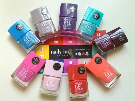 Review Swatches Nails Inc Gel Effect Polish Dont Require Uv
