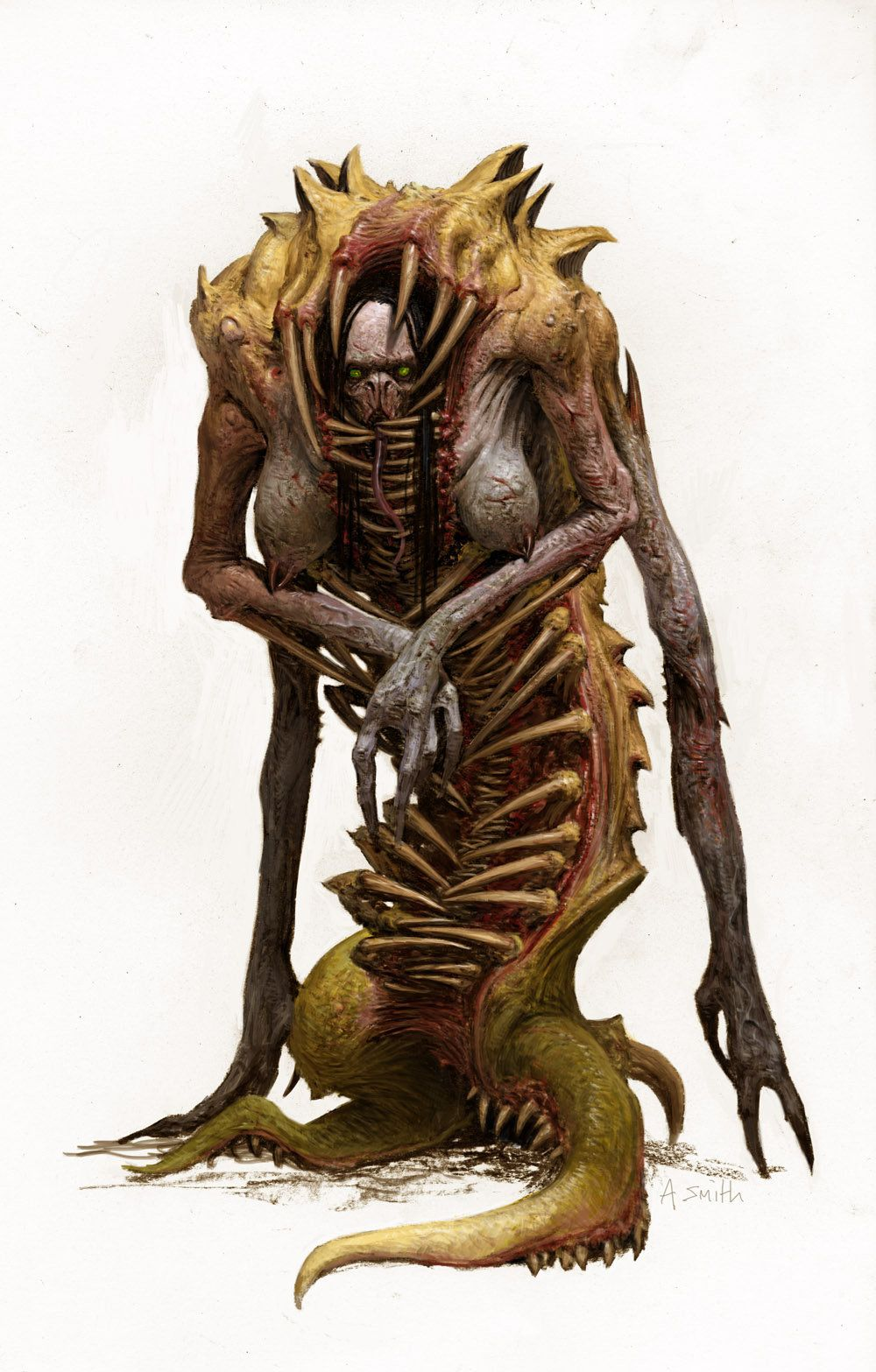 The Others Seven Sins Board Game Character Envy Adrian Smith On