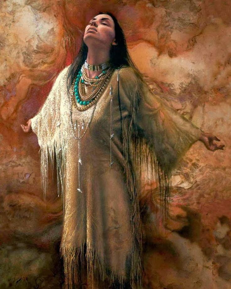 Pintura y Fotografía Artística : Pinturas Indias Americanas ...