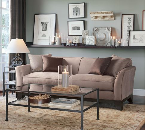 Tanner Rectangular Coffee Table Couch Decor Living Room Designs Living Room Shelves