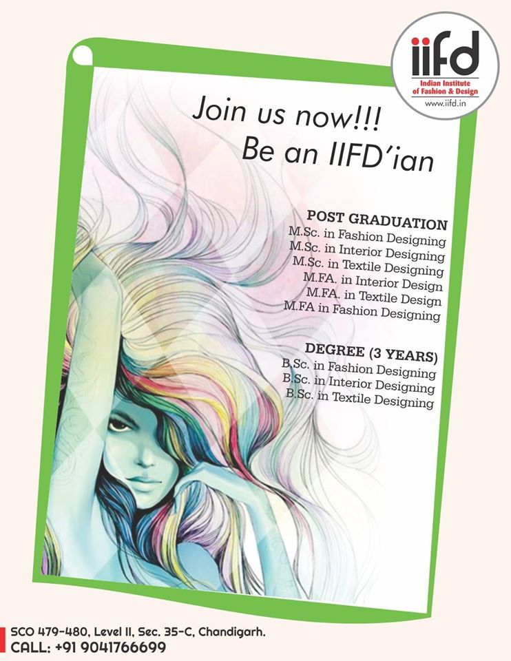 Join Us Now Be An IIFDian Best Fashion Designing Institute