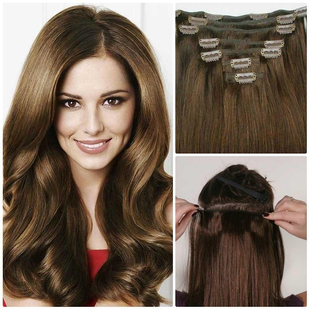 Cheap hair extensions clip in hair in pinterest hair