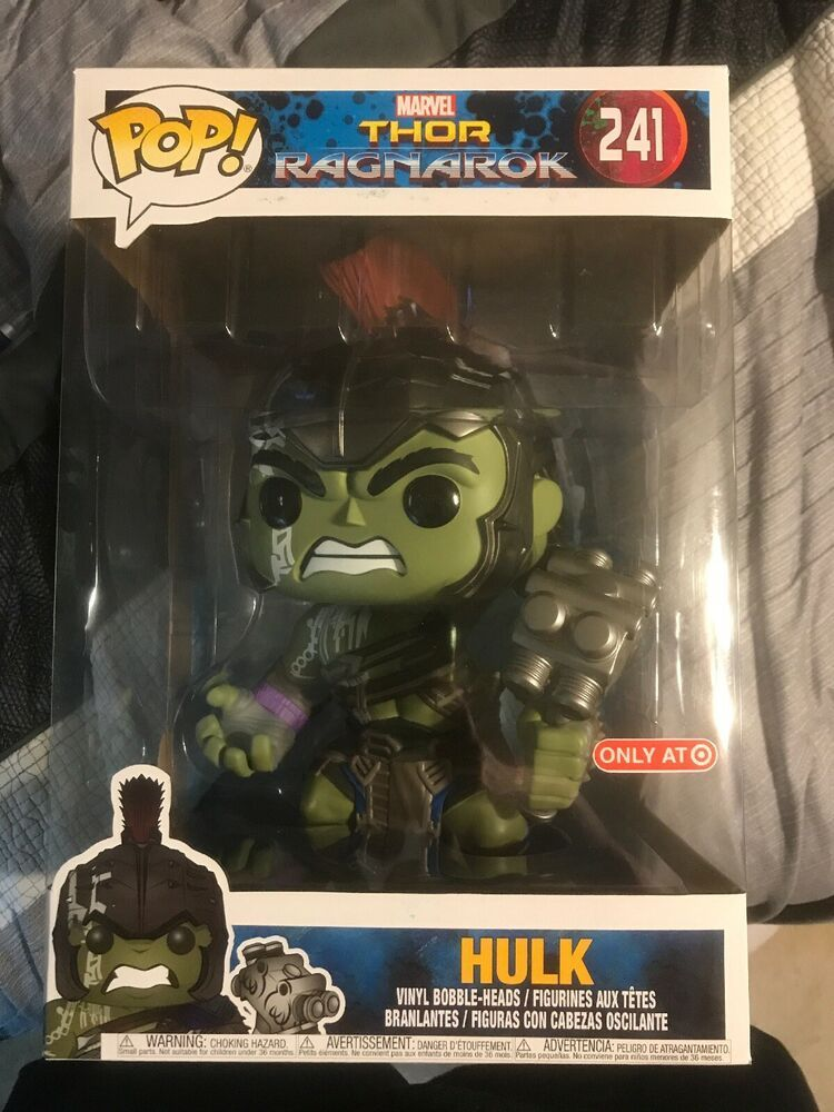 10 Hulk Funko Pop Thor Ragnarok 241 Vinyl Target Exclusive 10 Inch Afflink Contains Affiliate Links When You Funko Pop Star Wars Marvel Future Fight Thor