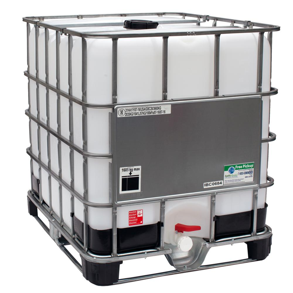 Gcube 275 Gal Transportable Storage Tank Ibc With Cage And