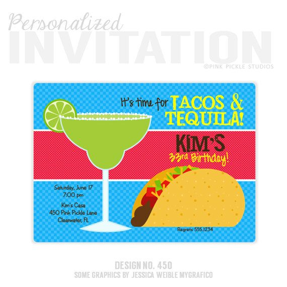 587e995f02e6d6cc55c017db7ecf4b80 taco invitation taco party tacos & tequila by pinkpickleparties,Taco Party Invitations