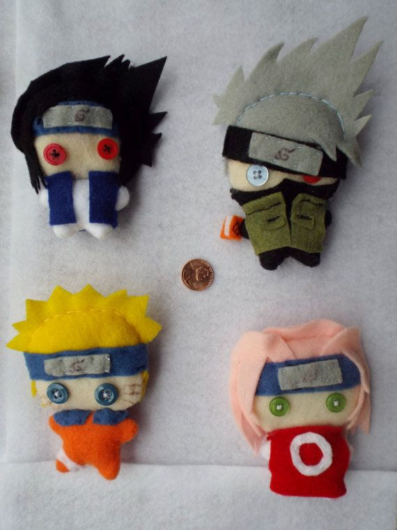 Naruto Anime Series: Genin Teams Plushies | Plush | Pinterest