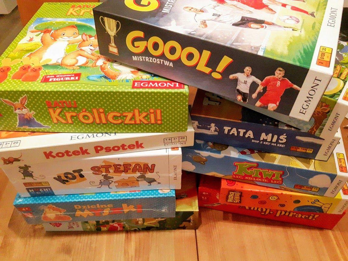 Gry Planszowe Dla 3 I 4 Latka Blog Matczyne Fanaberie Recipe Family Vision Board Gum Egmont