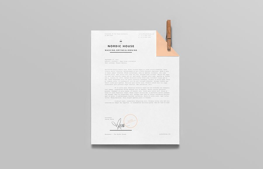 Nordic House by Anagrama, 2013. #branding