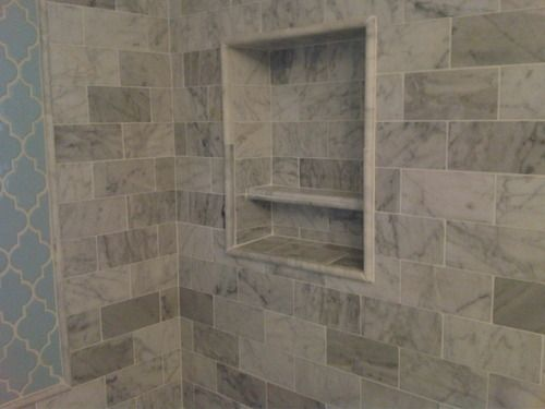 Customer Image Gallery For Carrara Carrera Marble 3x6 Subway Honed Tile Venato From Builders