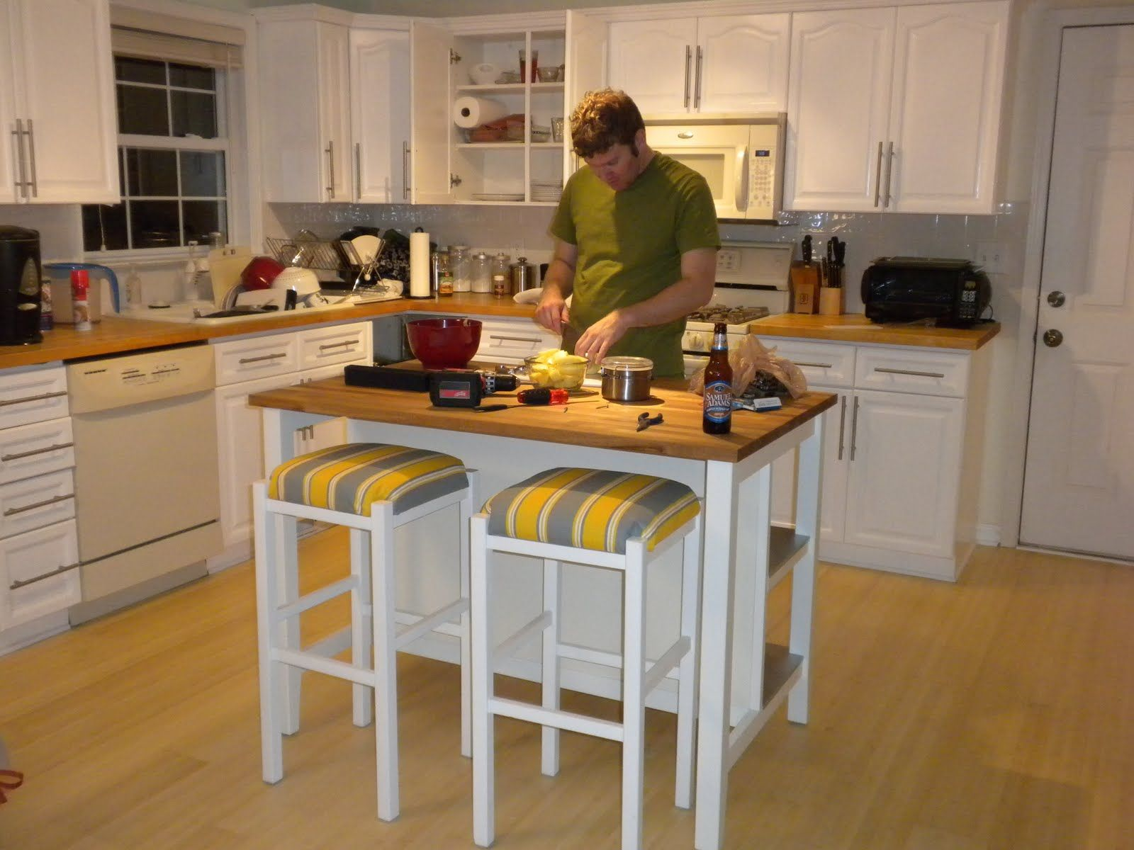 Ikea Kitchen Island Base Bloomfield A Kitchen Remodel Pinterest