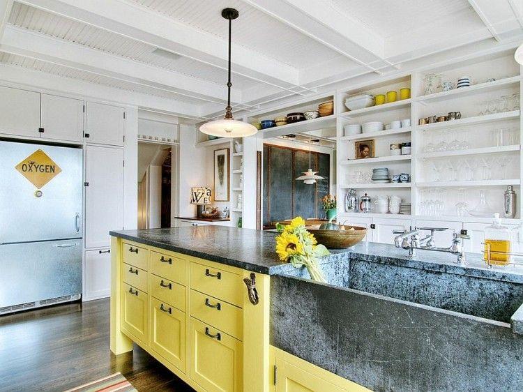 Shabby chic cocinas elegantes para personalizar tu hogar. | Muebles ...