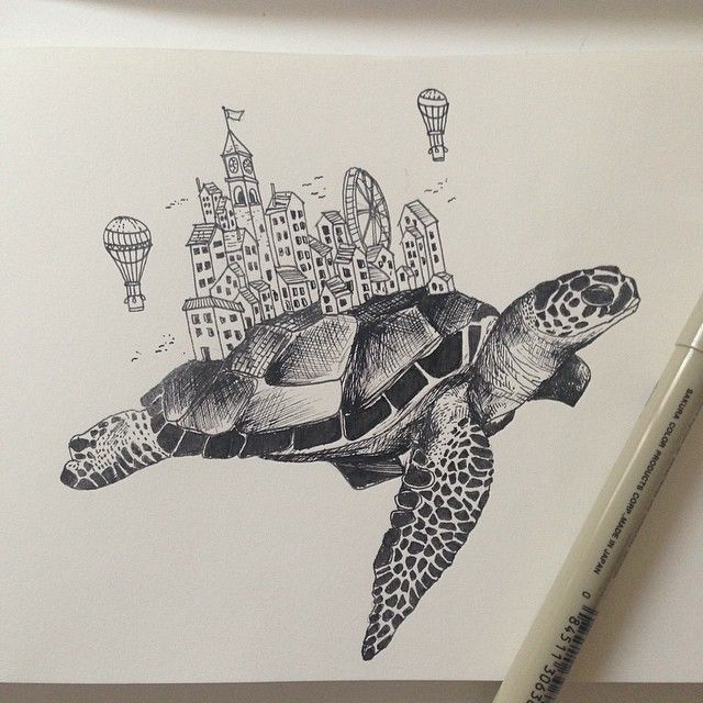 Just what i had in mind via alfred basha cool arts and for Cool detailed drawings
