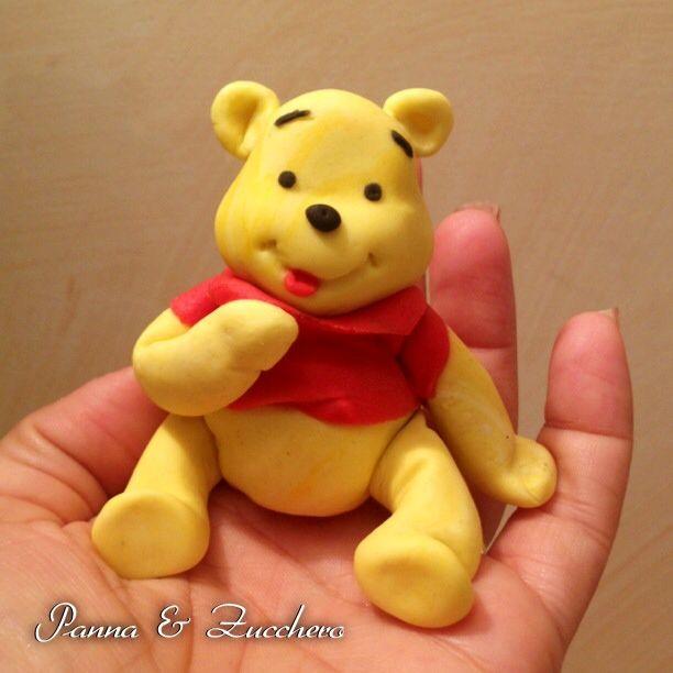 Pooh my first pooh fondant toppers geburtstag torte kuchen torten - Winnie pooh kuchen deko ...