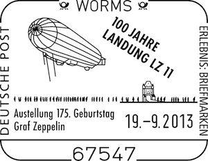 """Ausstellung: """"Zeppelin über Worms"""""""