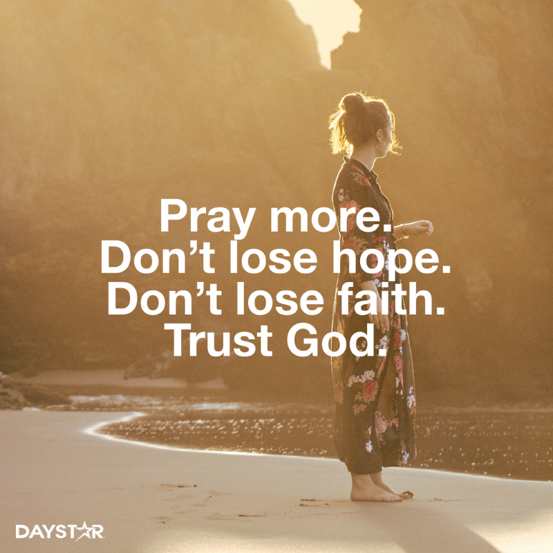 Prayers For Faith And Trust In God