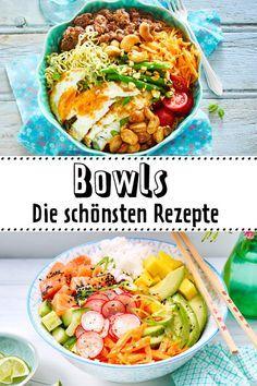Bowl-Rezepte - bunt, gesund, ab in den Mund| LECKER #healthyeating