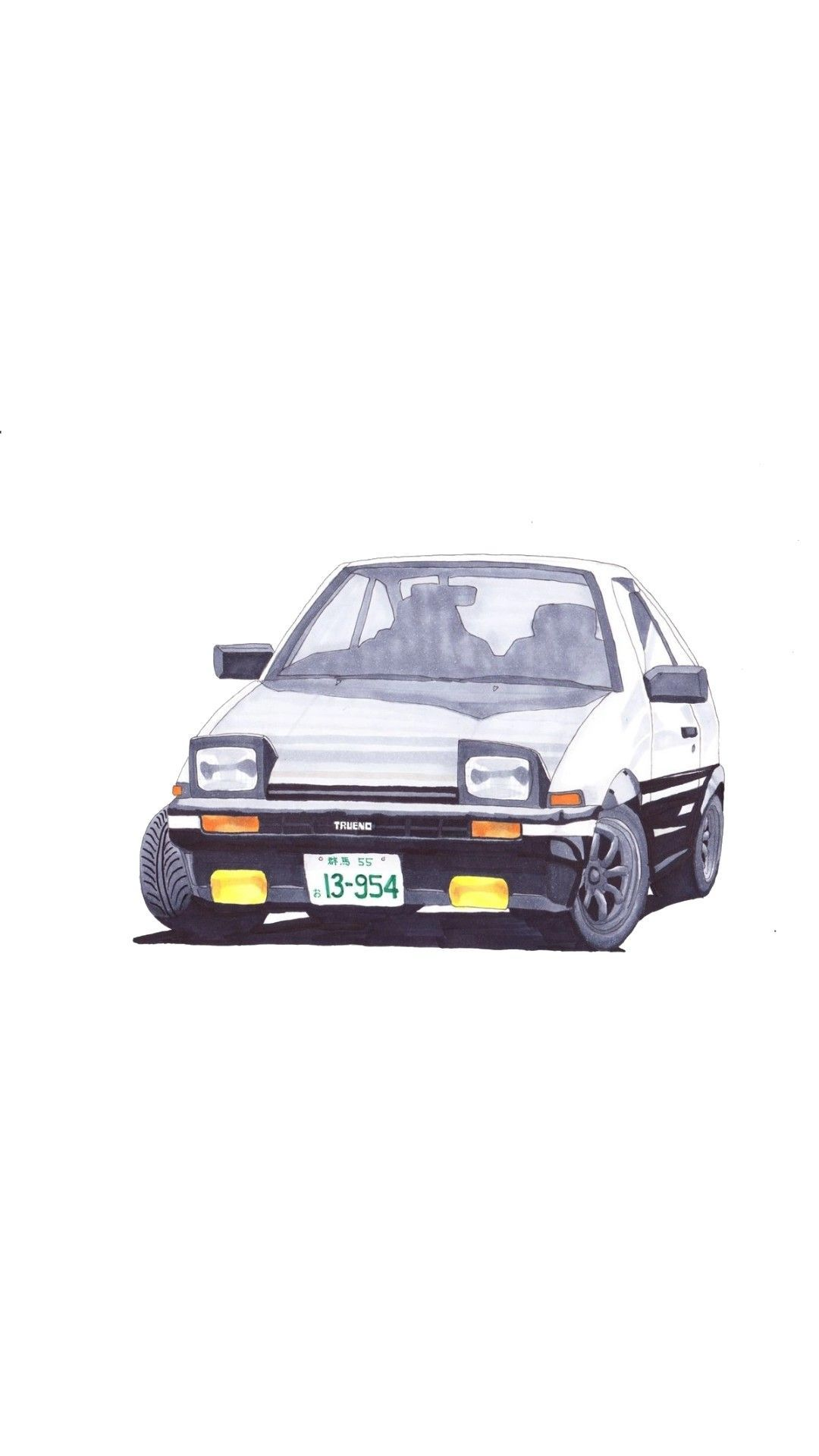 Toyota Ae86 Trueno Initial D Cool Car Pics 2 Automotive Art Cool