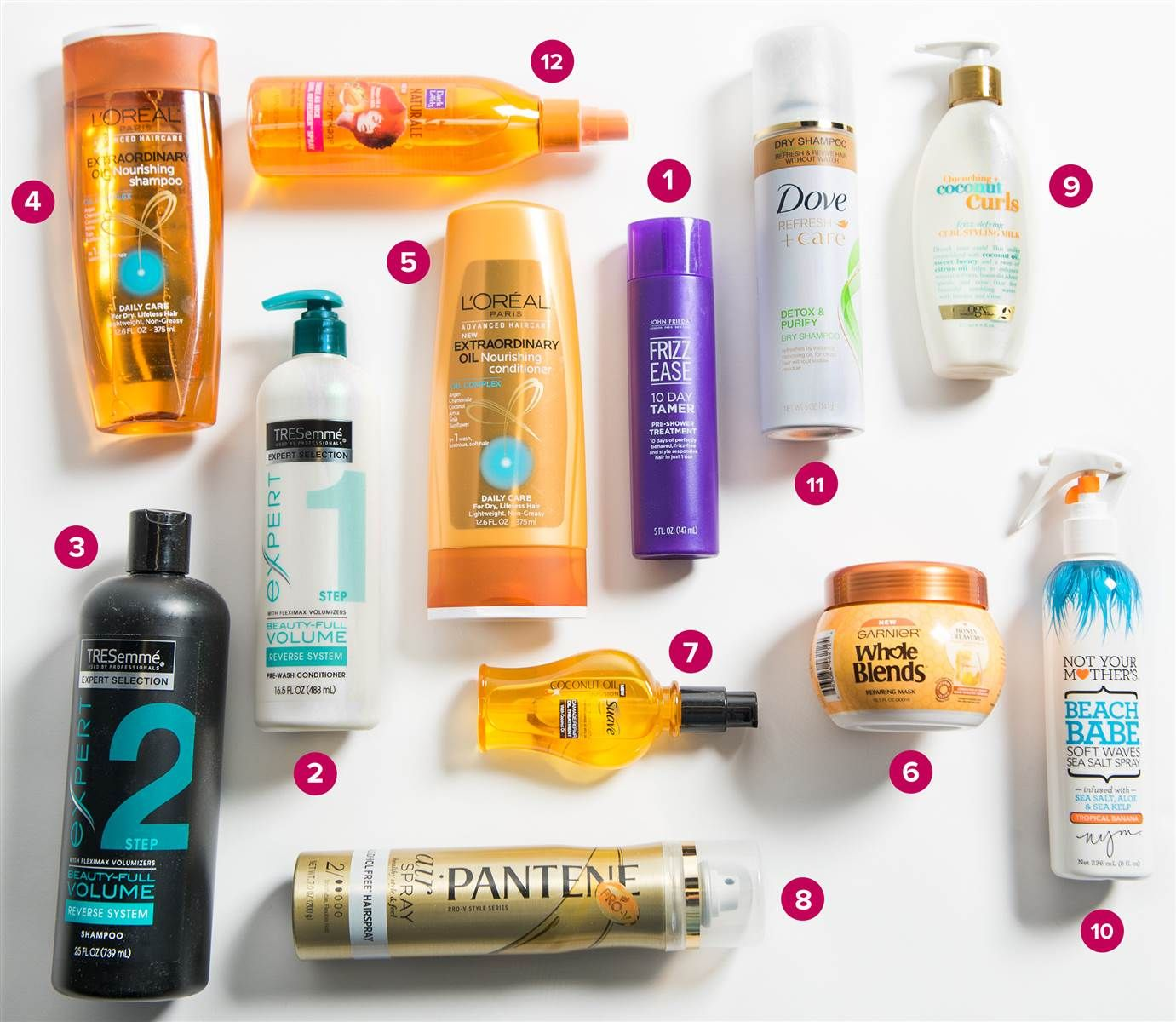 12 best drugstore hair products from the People and TODAY
