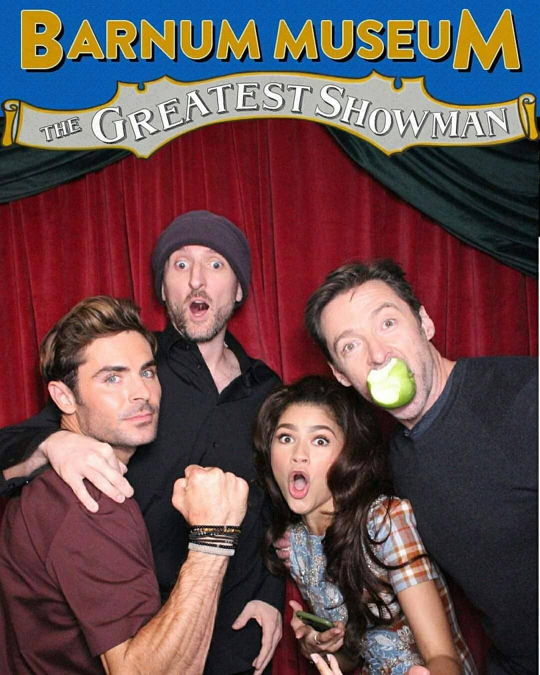 Hugh. What the heck with the apple