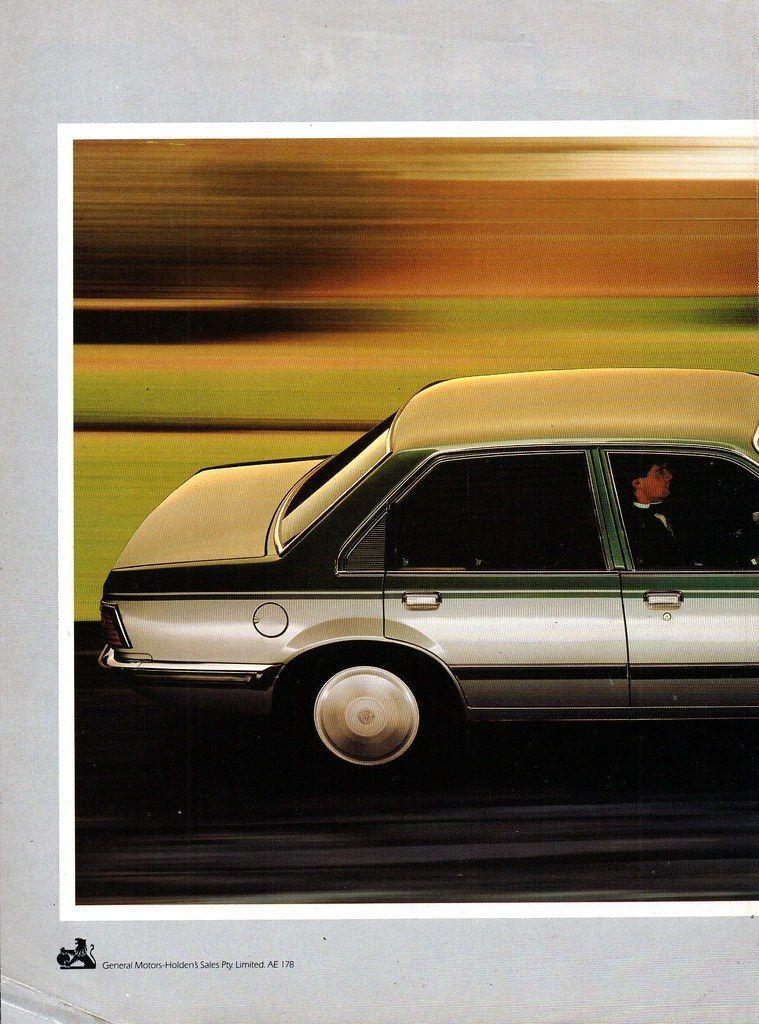 Original Holden 1983 Camira sedan and wagon sales brochure