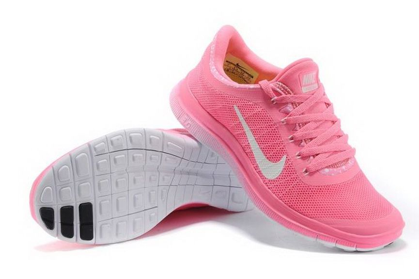 Nike Free Run 3.0 V6 Dames Baby Roze