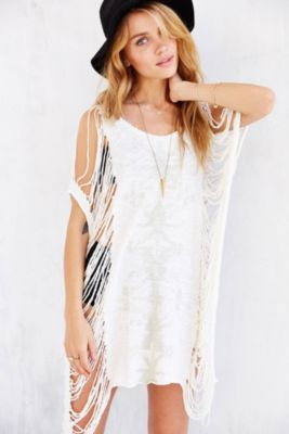 Truly Madly Deeply Showstopper Destroyed Tee Dress