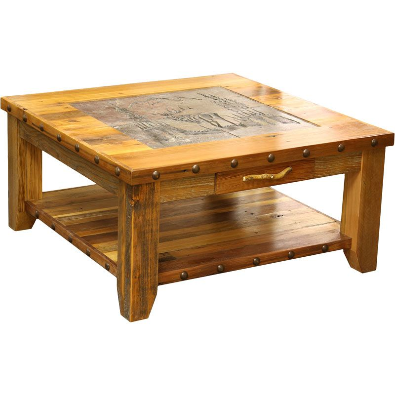 Country Rustic Coffee Tables Coffee Cocktail End Tables