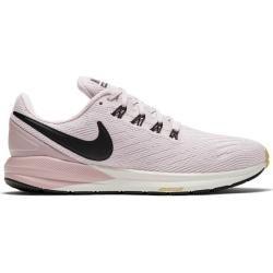 Nike Damen Laufschuhe Air Zoom Structure 22, Größe 42 In Platinum Violet/black-Plum Cha, Größe 42 In