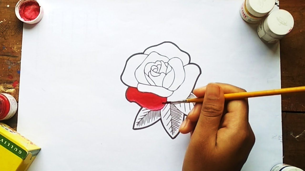 Kellypriceandcompany Info How To Draw Color A Rose Super Easy