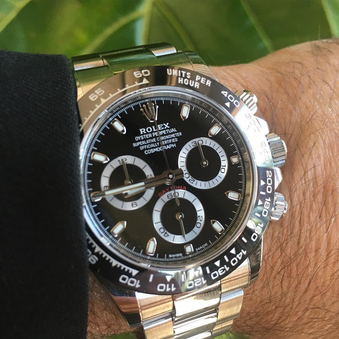 Used Rolex Daytona >> Black Beauty New Rolex Daytona Ceramic 116500ln Rolexwatch