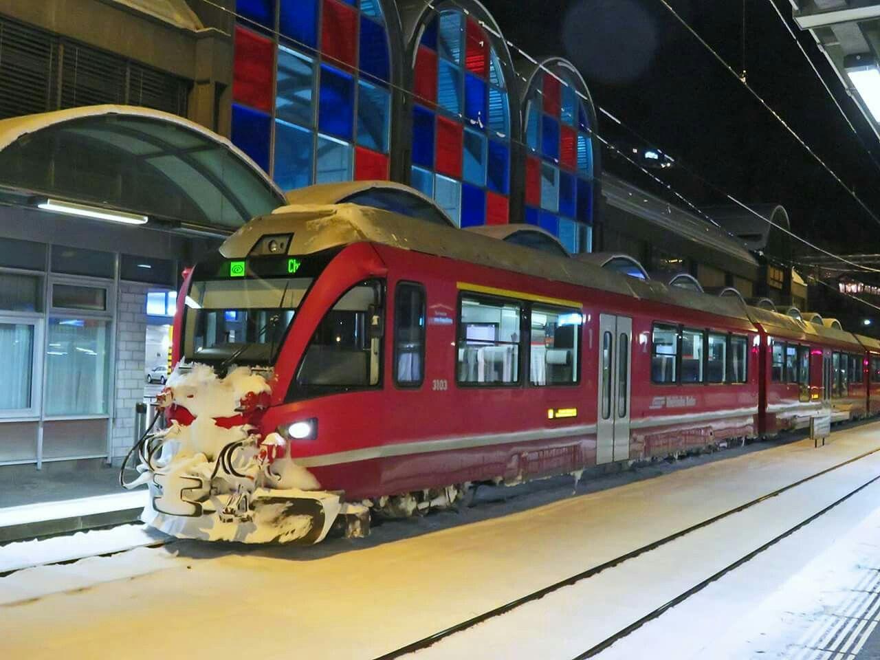 """Rhätische Bahn (RhB), ABe 4/16 3103 """"Hortensia von"""
