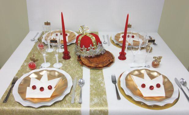 Conseils déco de table galette des rois