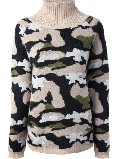 MSGM Camouflage Sweater