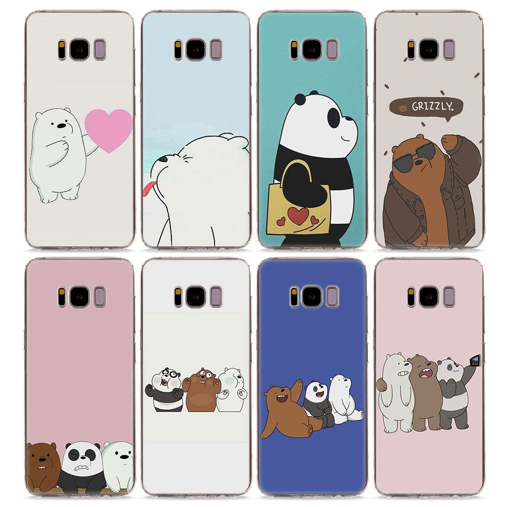 on sale 4495a 18a9f We Bare Bears Case for Samsung Note8 S6 S7 S8 S9 J3 J5 J7 (16 ...