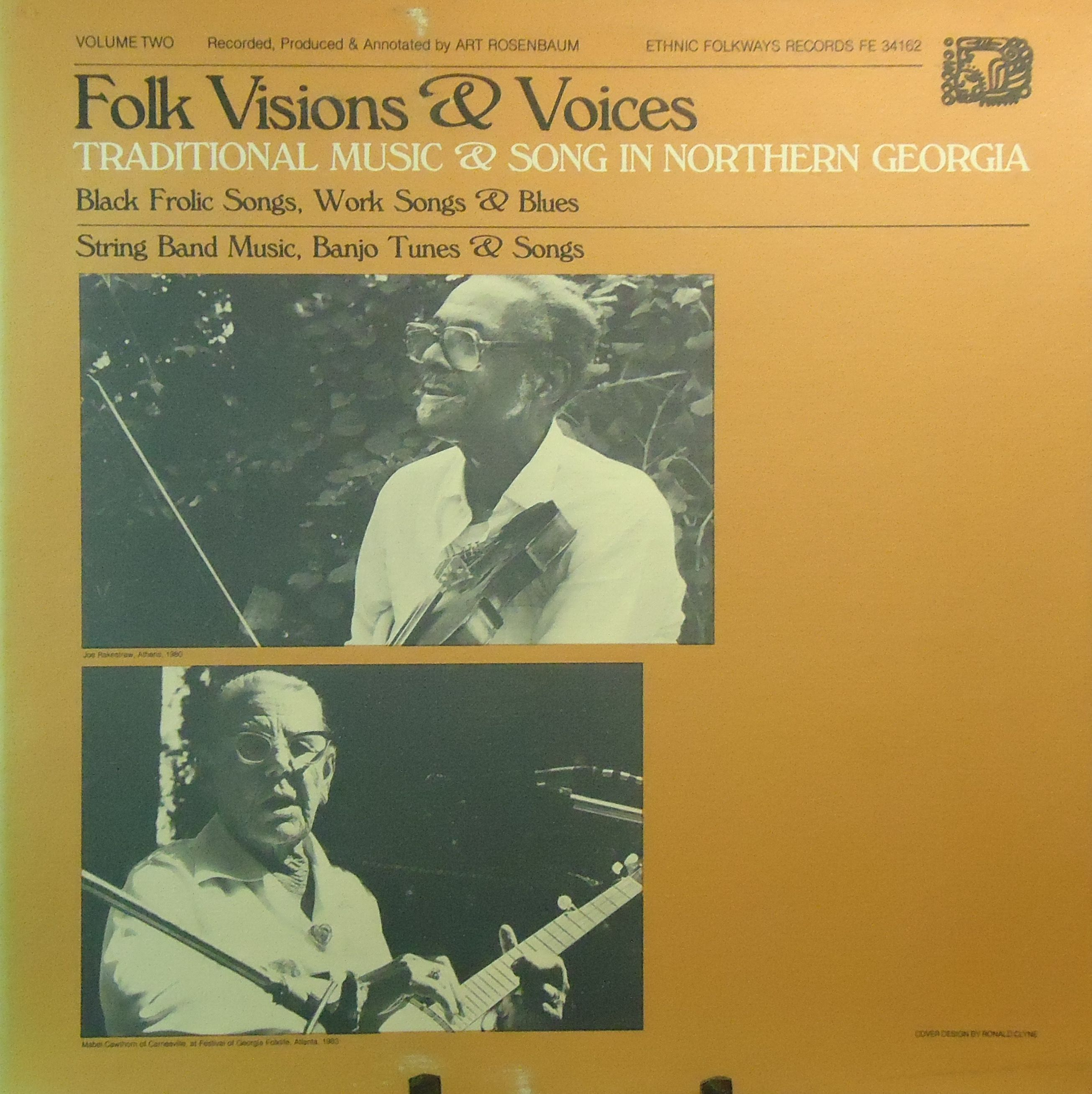 Folk Visions Voices Trad Music Song In Northern Georgia Vol 2 Vinyl Lp Music Songs Songs Traditional Music